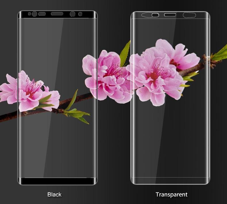 ฟิล์มกระจกนิรภัย 9H 2.5D เต็มจอ (Galaxy Note 8 N950)
