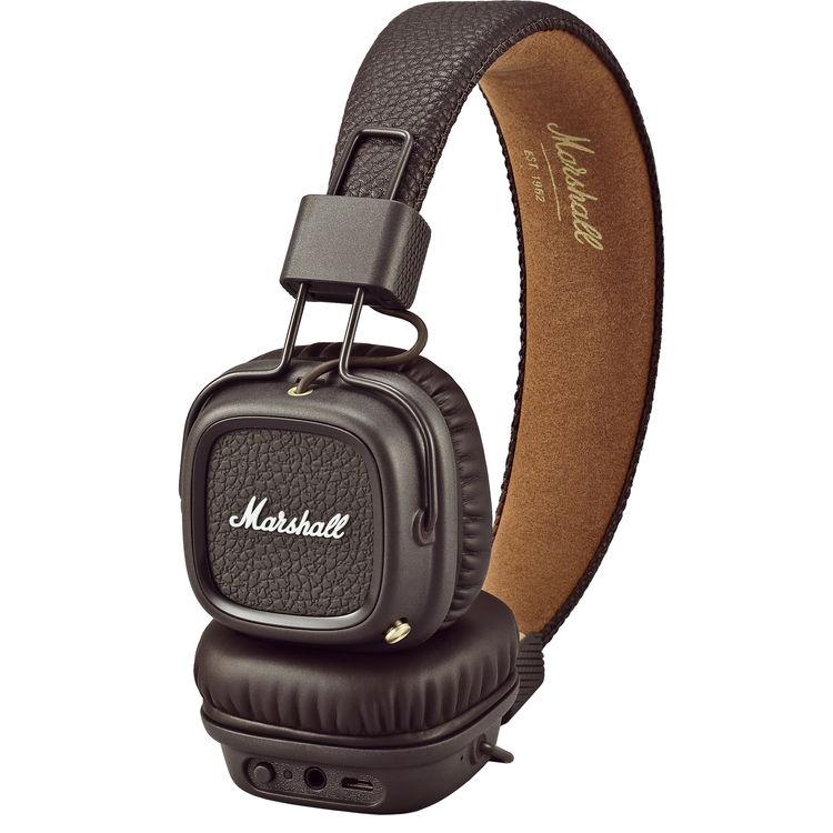 หูฟัง Marshall Major II Bluetooth สีBrown