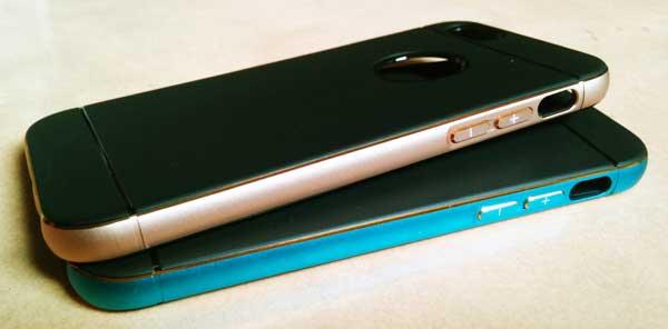 เคสไอโฟน ยางขอบโลหะ for iPhone 6