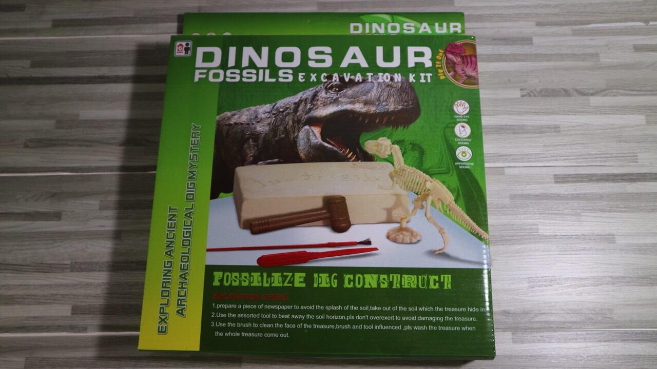 ชุดขุดหาโครงกระดูกไดโนเสาร์