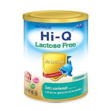 นมผง Dumex Hi-Q lactose free 400 g.สูตรปราศจากน้ำตาลแลคโทส