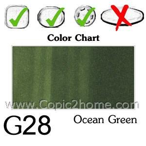 G28 - Ocean Green