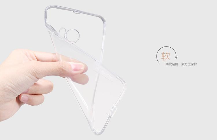 เคส HTC 10 - Nillkin TPU ขอบยางใส บางเบา จับกระชับมือ