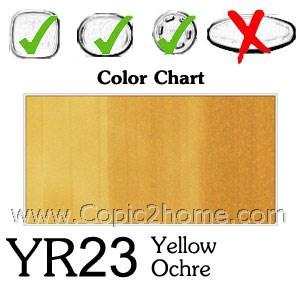 YR23 - Yellow Ochre
