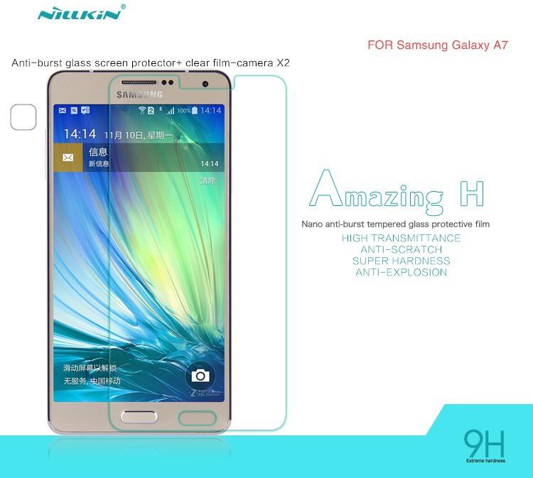 ฟิล์มกระจก 9H Nillkin (Galaxy A7)