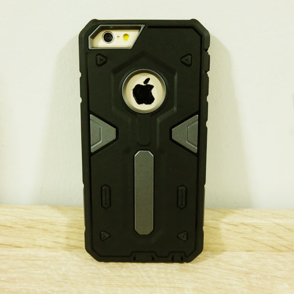 เคสไอโฟน 4/4S NEX สีเทาดำ