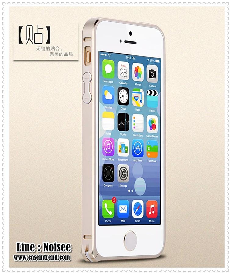 เคส iPhone5/5s - Lovemei อลูมิเนียน 0.7 mm