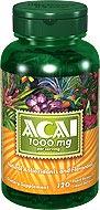 Puritan's Pride - ACAI Berry 1000 mg 120 Softgels