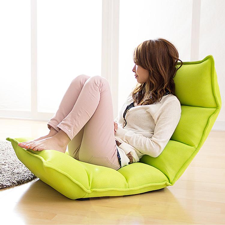 เก้าอี้ผ้า นั่งสบาย ปรับนอนได้ สไตล์ญี่ปุ่น