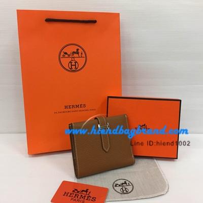 กระเป๋าแบรนด์ Hermes wallet งานHiend Original