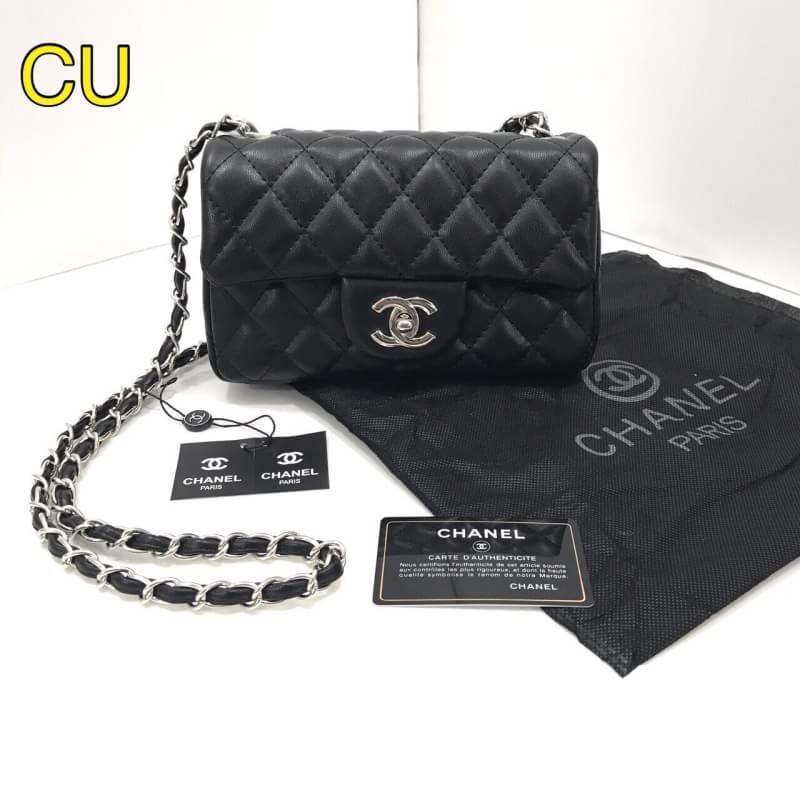 กระเป๋าแบรนด์ chanel mini งาน top premium 8 นิ้ว