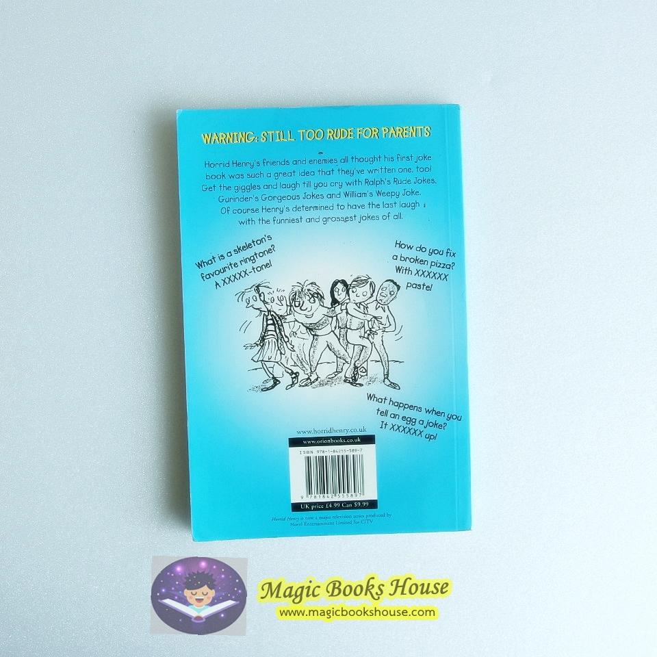 Horrid Henry's Jolly Joke Book ( by Francesca Simon )