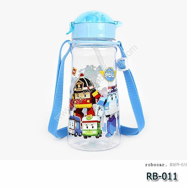 RB-011 กระติกน้ำ Robocar Poli (450 ml)