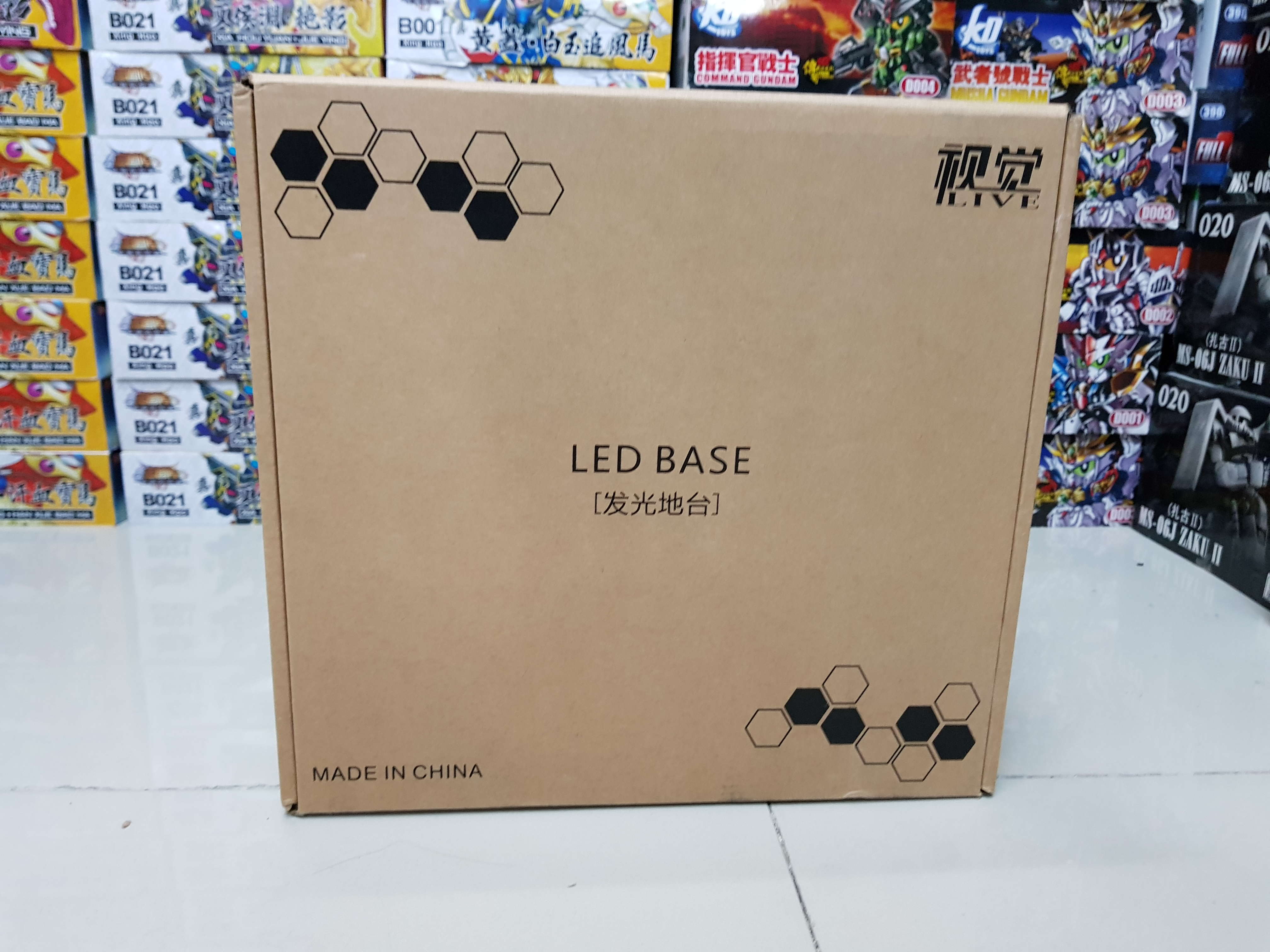 LED Base with Remote for 1/144 , 1/100 , 1/60 ,1/48