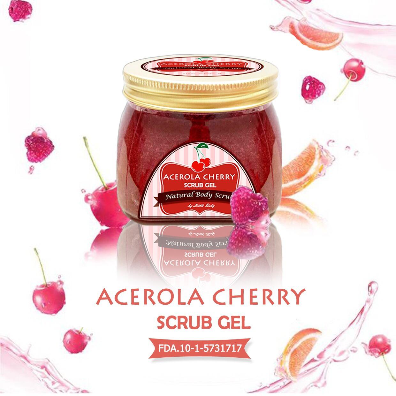 Acerola Cherry Scrub Gel by Little Baby อเซโรล่ทา เบอร์รี่ สครับ เจล ลิตเติ้ล เบบี้