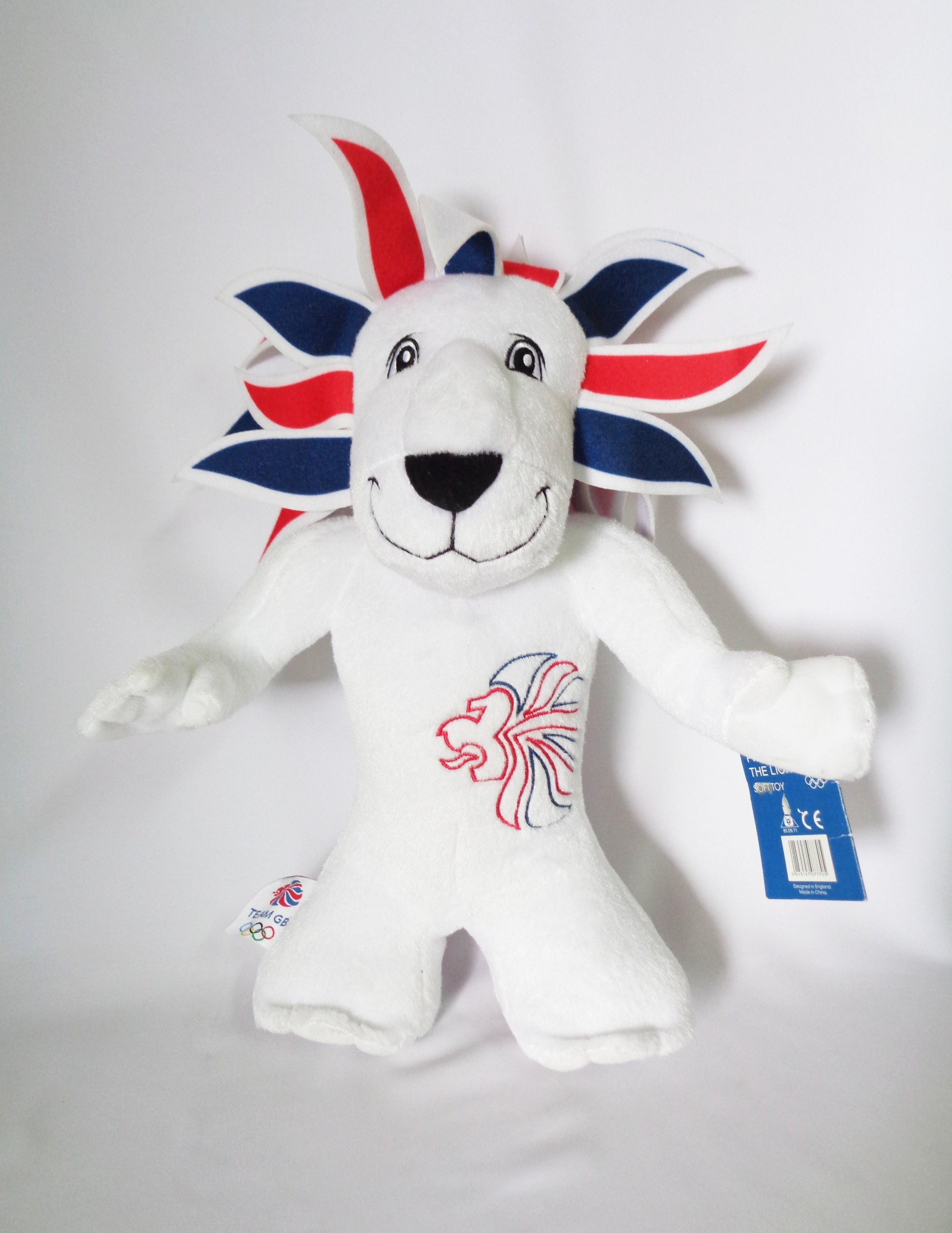 ตุ๊กตา Mascot UK Olympic 2012