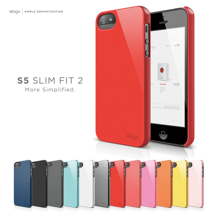 Elago : S5 Slim Fit 2 Case For Apple iPhone 5