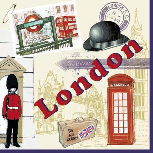 กระดาษแนปกิ้น เดคูพาจ 74449 London