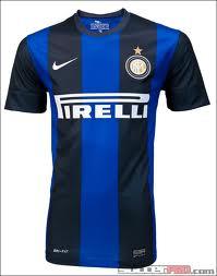 เสื้อทีมเหย้า Inter Milan ฤดูกาล 2011 - 2012