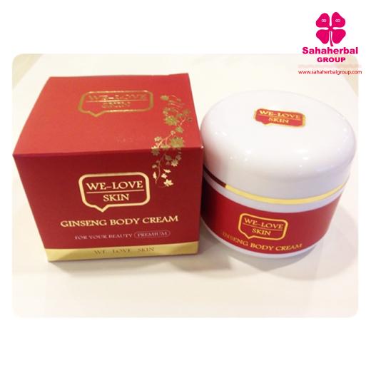 we love skin ครีมโสม SALE 60-80% ฟรีของแถมทุกรายการ