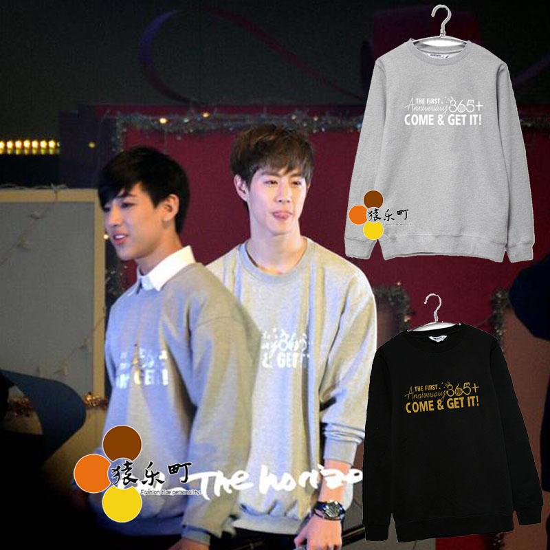 Sweater GOT7 365+ COME & GET IT -ระบุสี/ไซต์-