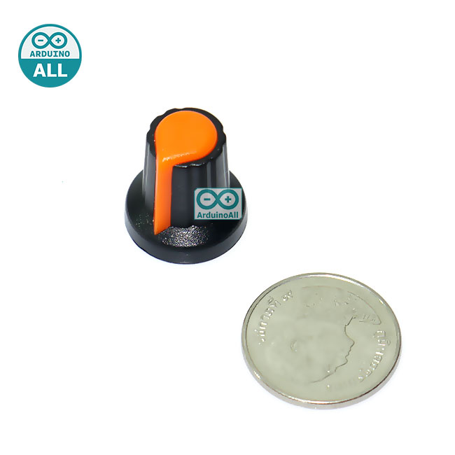 Plastic Knob WH148 Knob Potentiometer Knob Hat จุกหัวหมุนตัวต้านทานปรับค่าได้