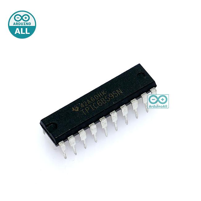 IC TPIC6B595 DIP20 Power Logic 8-Bit Shift Register