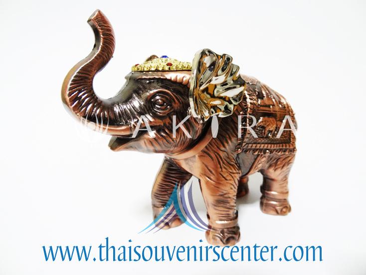 ของพรีเมี่ยม ของที่ระลึกไทย ช้าง แบบ 1 Size M สีทองแดง