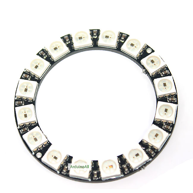 NeoPixel Ring 16 WS2812 RGB LED