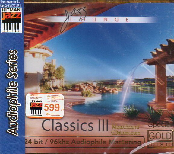 CD,Jazz Lounde Classics 3(Gold CD)