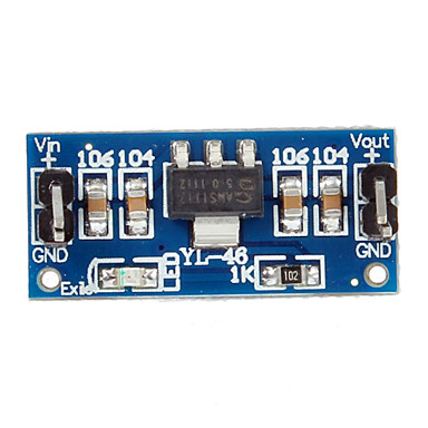 5V power supply module / AMS1117-5.0 AMS1117-5.0V power supply module