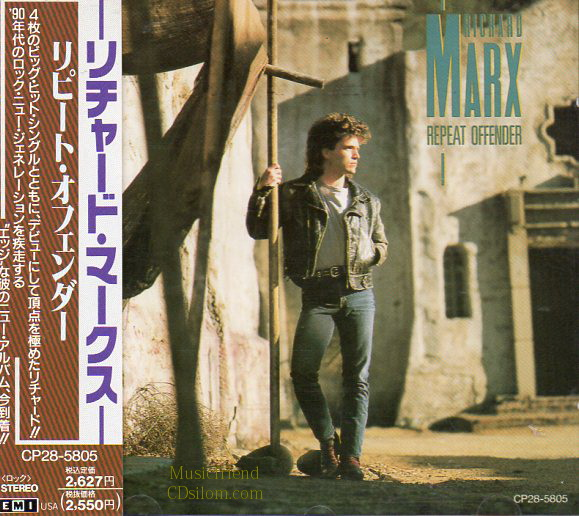 CD,Used,Richard Marx - Repeat Offender(Japan)