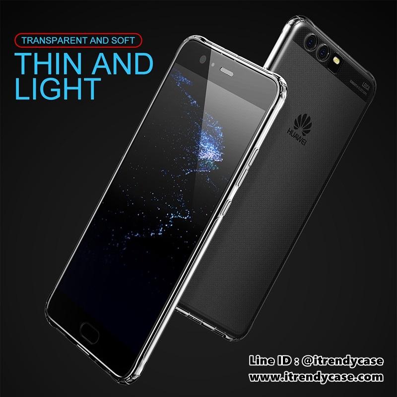 Huawei P10 Plus - เคสใส Baseus TPU Super Slim Air Case แท้