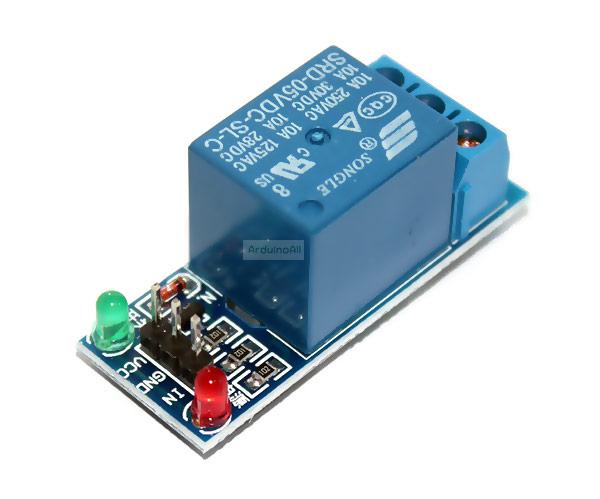 โมดูล รีเลย์ 1-Channel relay 5V 1 ช่อง isolation control Relay Module Shield 250V/10A Active LOW