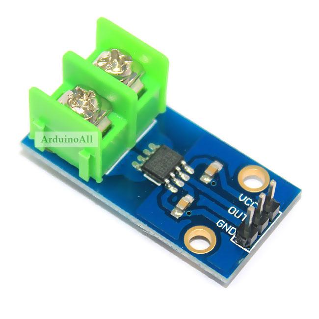 5A Current โมดูลวัดกระแสขนาด 5 แอมป์ 5A Current Sensor Module