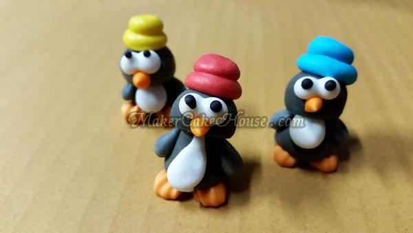 ตุ๊กตาไอซิ่งรูปนกเพนกวิน ( 20 ชิ้น )