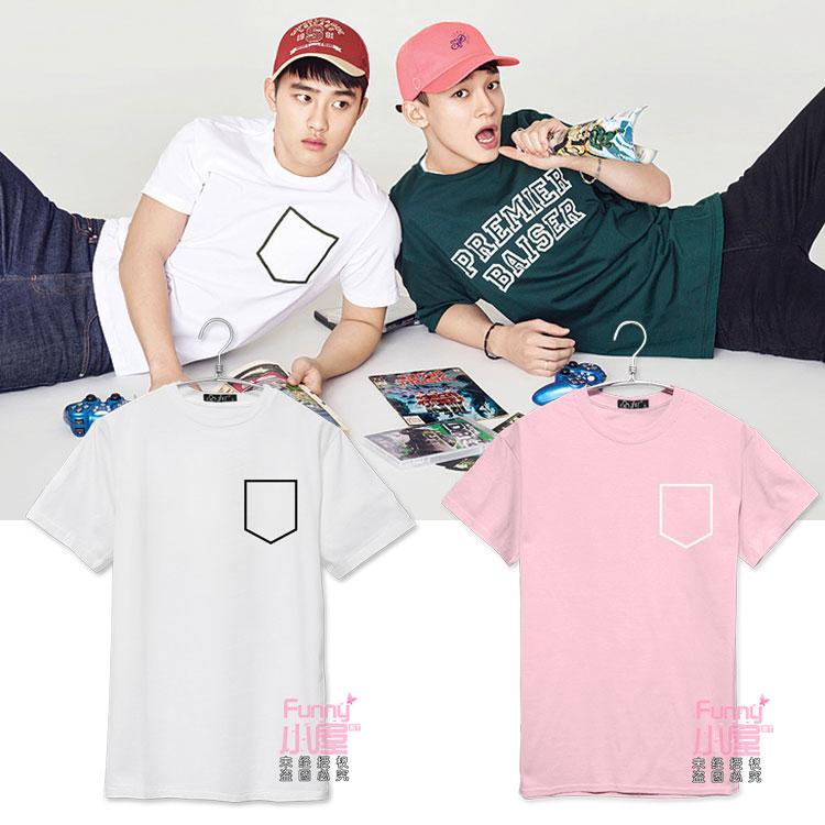 เสื้อยืด Bag Sty.DO EXO -ระบุสี/ไซต์-