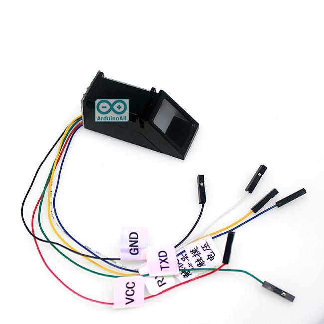 Fingerprint Arduino Senser โมดูล สแกนลายนิ้วมือ สำหรับ Arduino