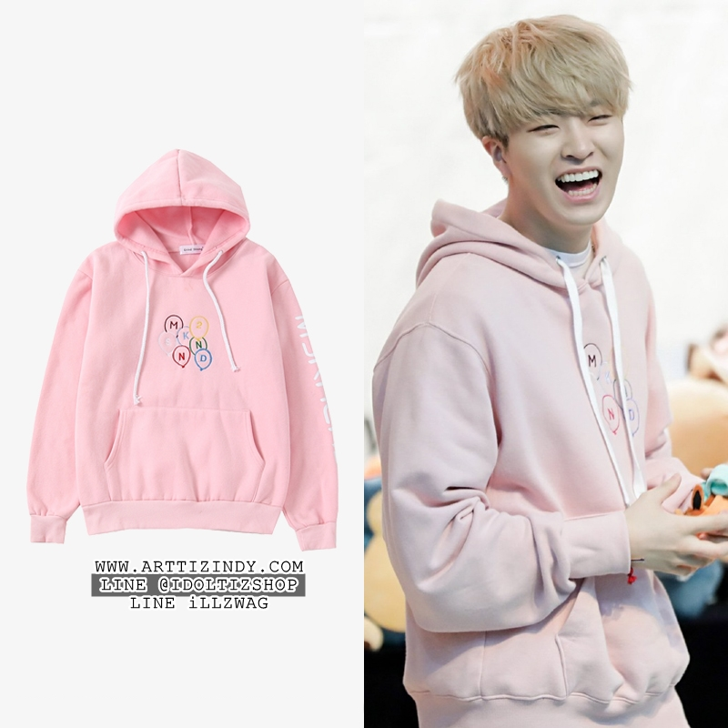 Hoodie MSK2ANND PINK Sty.YoungJae -ระบุไซต์-