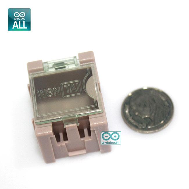 SMT Electronic Component Box กล่องใส่อุปกรณ์อิเล็กทรอนิกส์แบบต่อขยายได้ คละสี จำนวน 1 ชิ้น