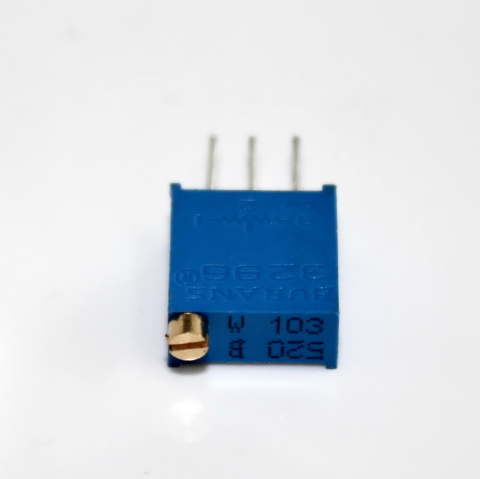 ตัวต้านทานปรับค่าได้ 10K แบบละเอียดหมุน 25 รอบ Trimpot 10 K 25 Turns 3296 Series Potentiometer Valiable Resisaor