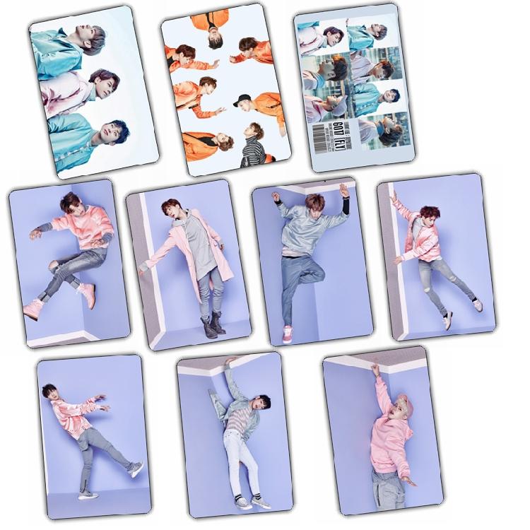 Sticker Card set GOT7 FLY (A/10pc)