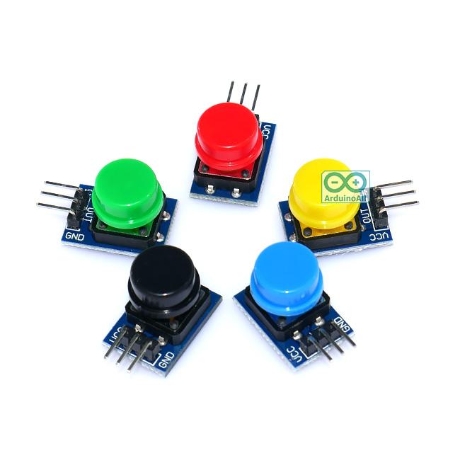 โมดูลสวิตช์ เซต 5 สี Arduino Button module 5 color suit