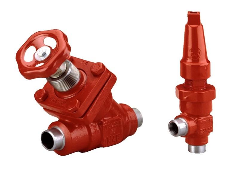 SVA-ST 6-200, stop valves, standard version