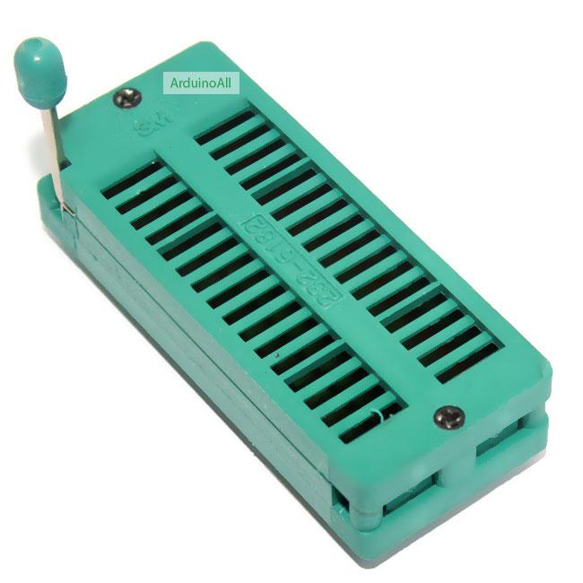 ZIF Socket 32 Pin Universal ZIF Dip Tester IC Test Socket