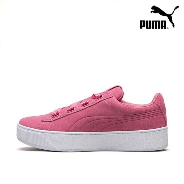 *Pre Order* PUMA Hummer women's platform casual shoes Vikky Platform Ribbon 364979