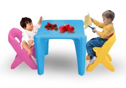 โต๊ะติวเตอร์หนูน้อย SIZE:โต๊ะ 58X58X52 cm.