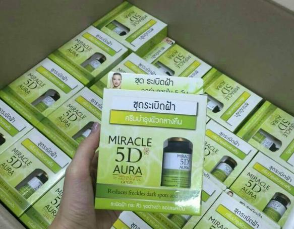 5D ระเบิดฝ้า Miracle 5D Aura