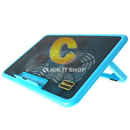 Cooler Pad NUBWO NF32 Slate (2Fan)Blue