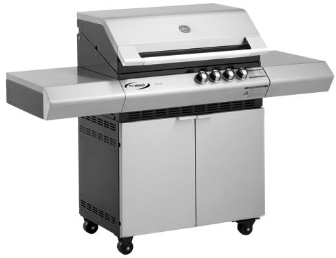 BBQ Medium range Turbo Elite RQT 2 burners